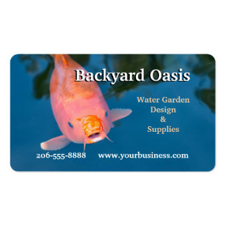 Freindly Koi Double-Sided Standard Business Cards (Pack Of 100)