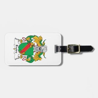Freire Family Crest Tag For Luggage