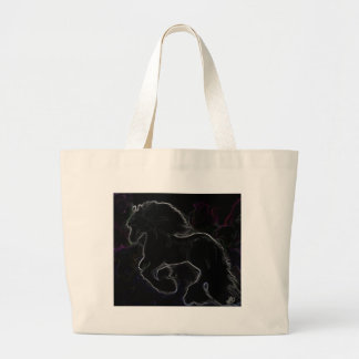 Freisian Glo Large Tote Bag