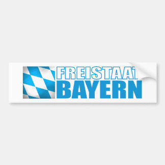 Freistaat Bayern Bumper Sticker
