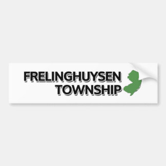 Frelinghuysen Township, New Jersey Bumper Sticker