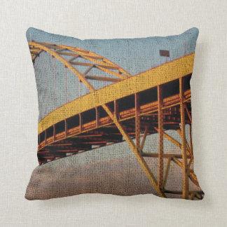 Fremont Bridge Portland Oregon Throw Pillow