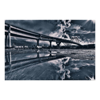 Fremont Bridge XL Print
