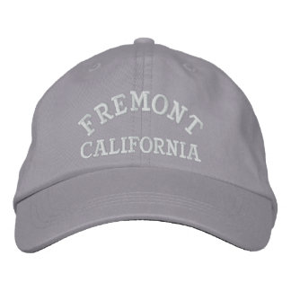 Fremont California Embroidered Baseball Hat