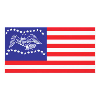 Fremont city flag card