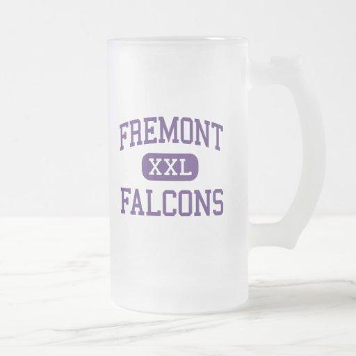 Fremont - Falcons - Junior - Mesa Arizona 16 Oz Frosted Glass Beer Mug