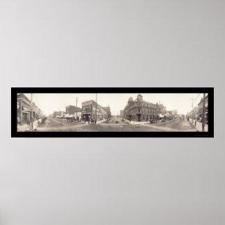 Fremont, NE Photo 1908 Print