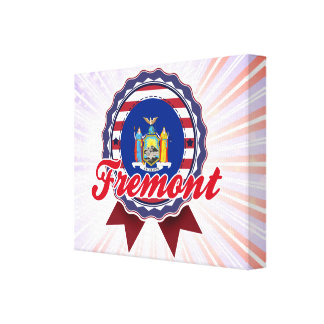 Fremont, NY Stretched Canvas Prints