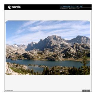 Fremont Peak Wind River range macbook skin