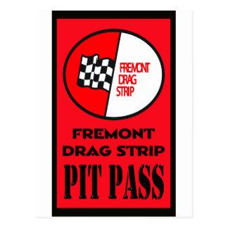 Fremont Pit Pass Postcard