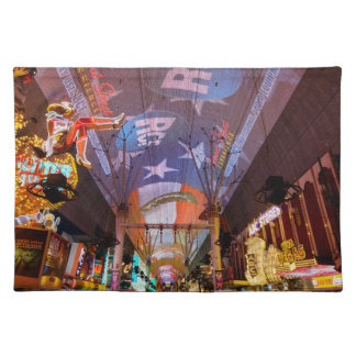 Fremont Street Experience Cloth Placemat