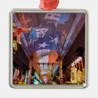Fremont Street Experience Metal Ornament