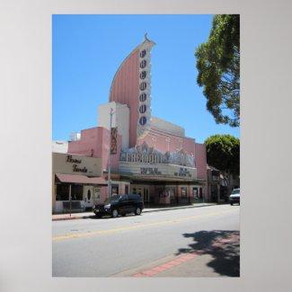 Fremont Theater, 2011, San Luis Obispo Print