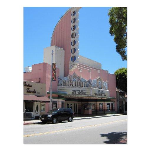 Fremont Theater, San Luis Obispo, CA Postcard
