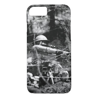 "French ""37"" in firing position on_War image iPhone 7 Case"