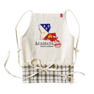French Acadiana Louisiana Certified Cajun Apron
