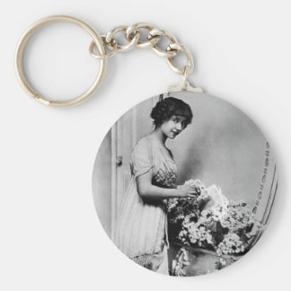 French Actress Keychain