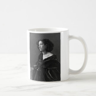 French Actress Sarah Bernhardt by Félix Nadar 1864 Coffee Mug