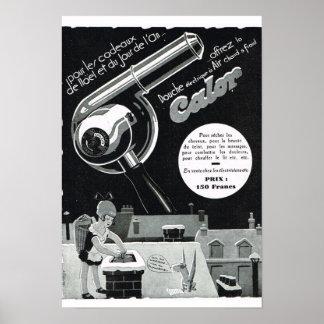French Advertisement Calor Print