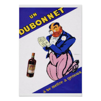 French Advertisement Dubonnet Posters