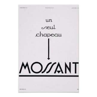 French Advertisement Moussant Posters