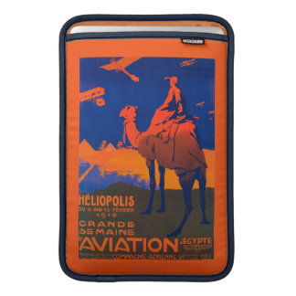 French Airline Promotional Poster MacBook Air Sleeve