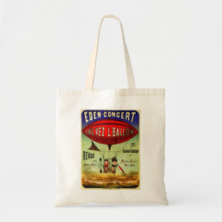 French Airship Tote Bag