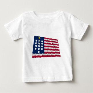 French Alliance Waving Flag Shirts