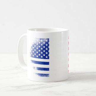 French American Flag   France and USA Design Coffee Mug