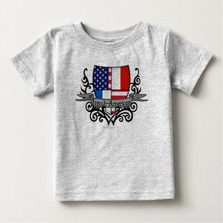 French-American Shield Flag Tshirts