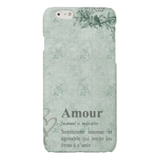 French Amour Glossy iPhone 6 Case