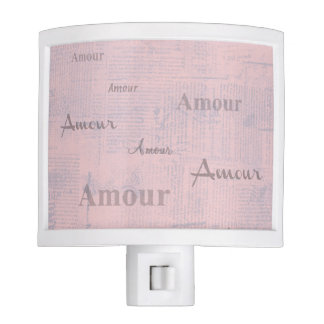 French Amour Night Light