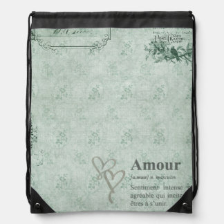 French Amour Cinch Bags