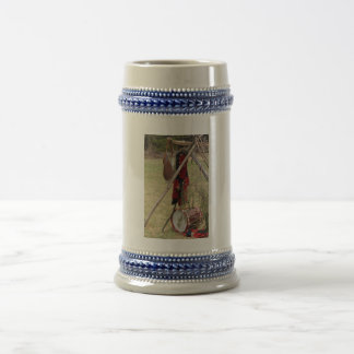 French and Indian War Drum and Uniform Beer Stein