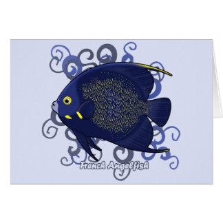 French Angelfish Card
