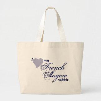 French Angora rabbit bag