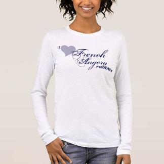 French Angora rabbits Long Sleeve T-Shirt