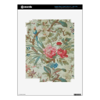 French Antique Toile Bird and Flowers iPad 3 Skin
