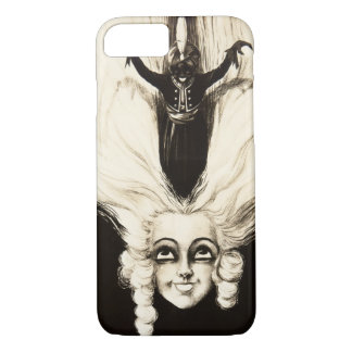French Aristocrat Wig Hair Vintage Marionette iPhone 7 Case