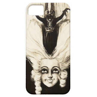 French Aristocrat Wig Hair Vintage Marionette iPhone SE/5/5s Case
