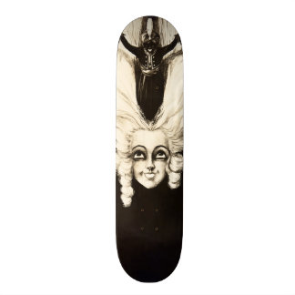 French Aristocrat Wig Hair Vintage Marionette Skateboard
