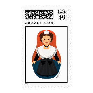 French Arles Provence Matryoshka Stamps