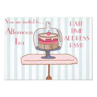 French Art Deco Afternoon High Tea party Card