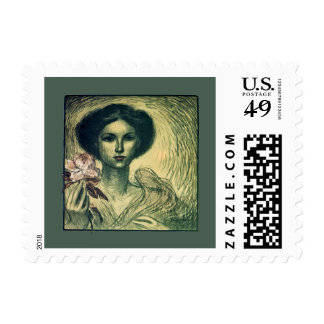 French Art Exhibition by Théophile Steinlen 1907 Postage