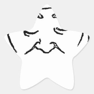 French art historian Louis Coujarod Felix Vallotto Star Sticker