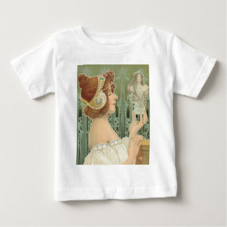 "French Art Nouveau ""Laurier Objets d'Art"" Baby T-Shirt"