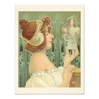 """French Art Nouveau  """"Laurier Objets d'Art"""" Announcement"""