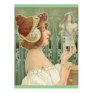 """French Art Nouveau """"Laurier Objets d'Art"""" Post Cards"""