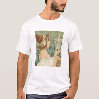 "French Art Nouveau  ""Laurier Objets d'Art"" Shirt"