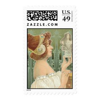 """French Art Nouveau  """"Laurier Objets d'Art"""" Stamps"""